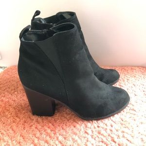 Express Women's Ankle Boots Black Size 7